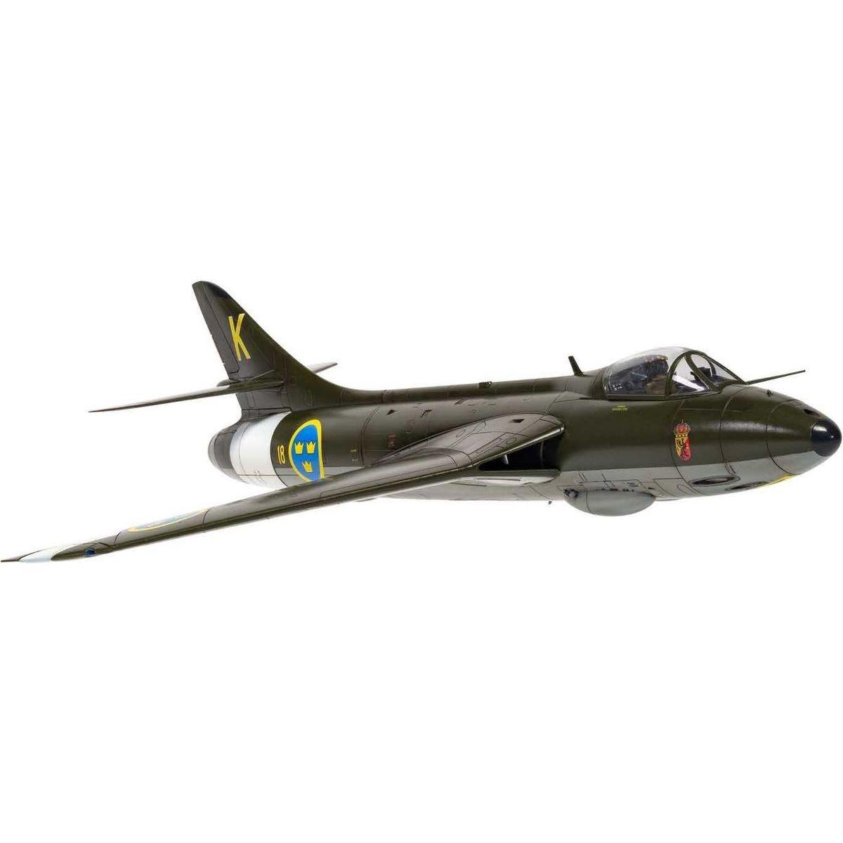Airfix Classic Kit lietadlo A09189 Hawker Hunter F.4 F.5 J.34 1:48