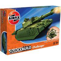 Airfix Quick Build tank Challenger Tank zelená