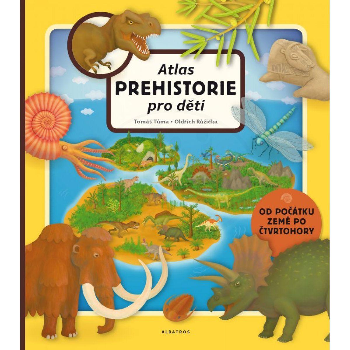 Albatros Atlas prehistorie pro děti