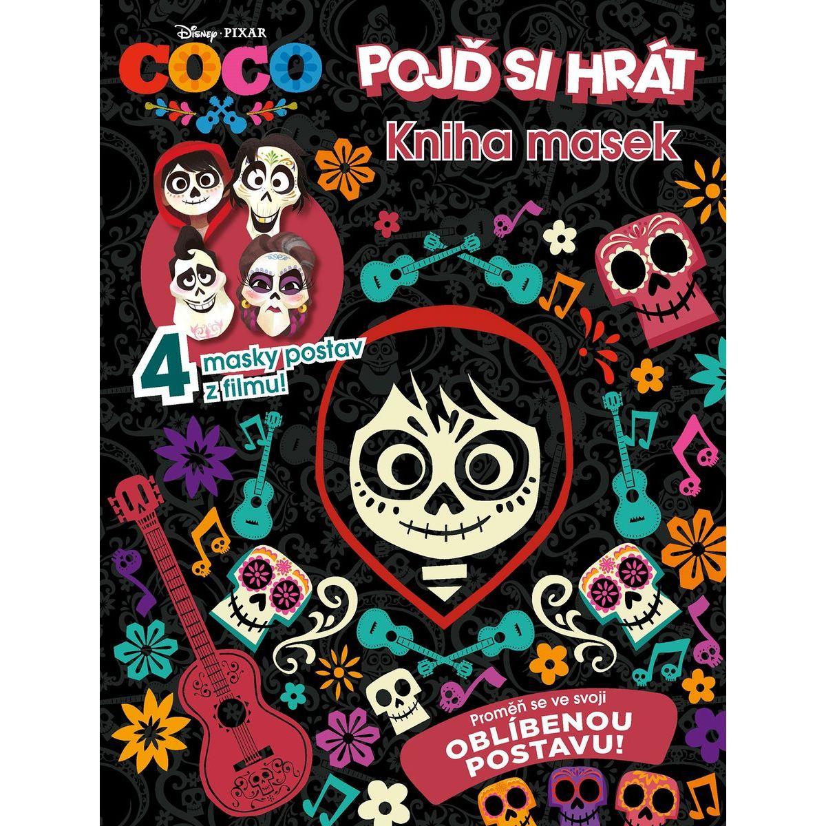 Albatros Coco Kniha masek ALBATROS