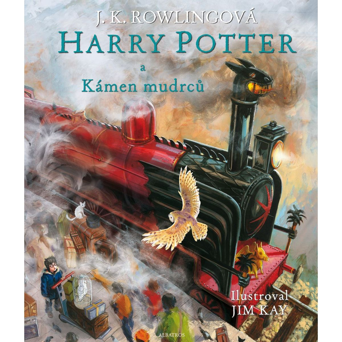 Albatros Harry Potter a Kameň mudrcov ilustrované vydanie