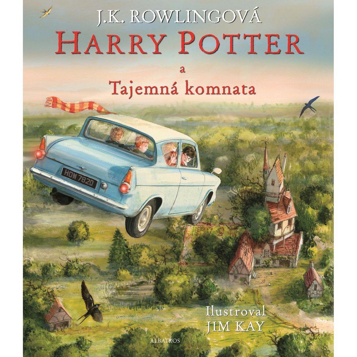 Albatros Harry Potter a Tajomná komnata ilustrované vydanie