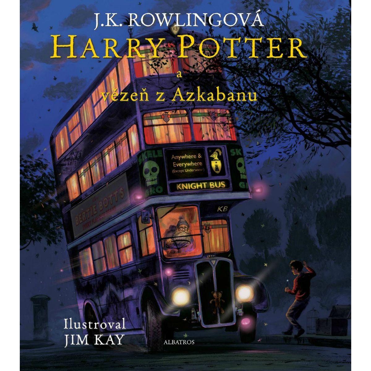 Albatros Harry Potter a väzeň z Azkabanu ilustrované vydanie