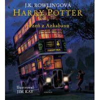 Albatros Harry Potter a vězeň z Azkabanu ilustrované vydání