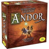 Albi Andor dobrodružné legendy - Poškozený obal