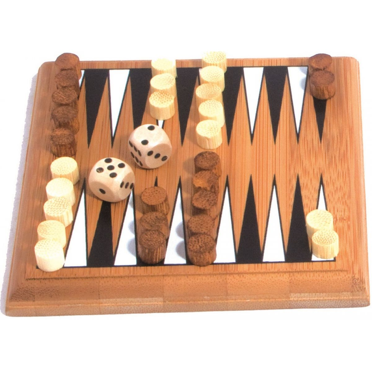 Albi Bambusové minihry - Backgammon