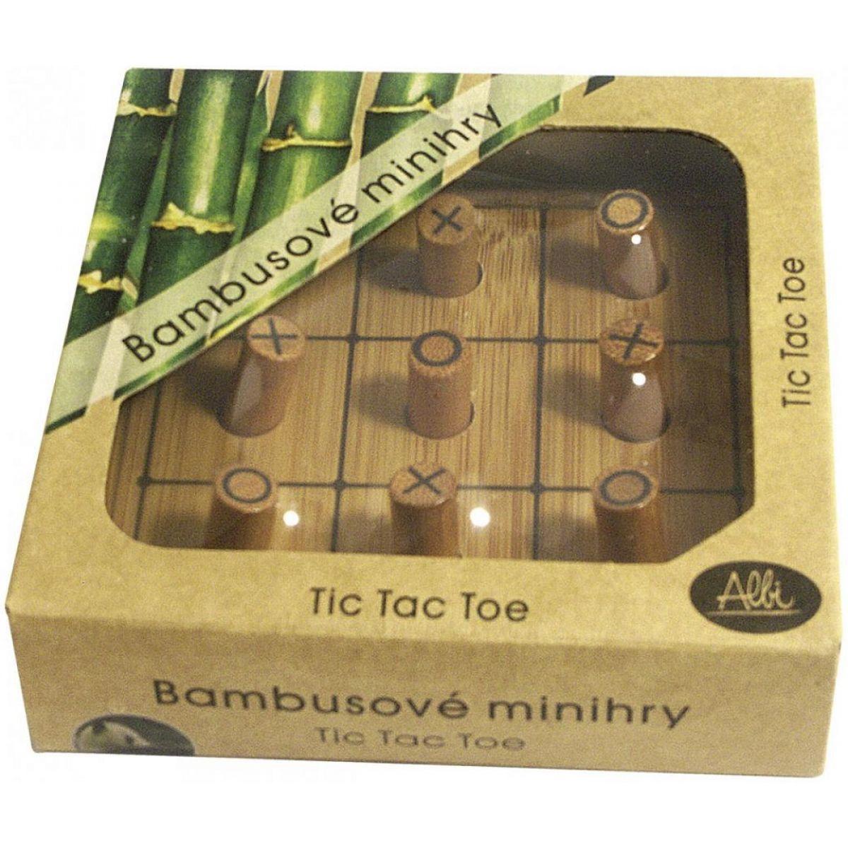 Albi Bambusové minihry - Piškvorky