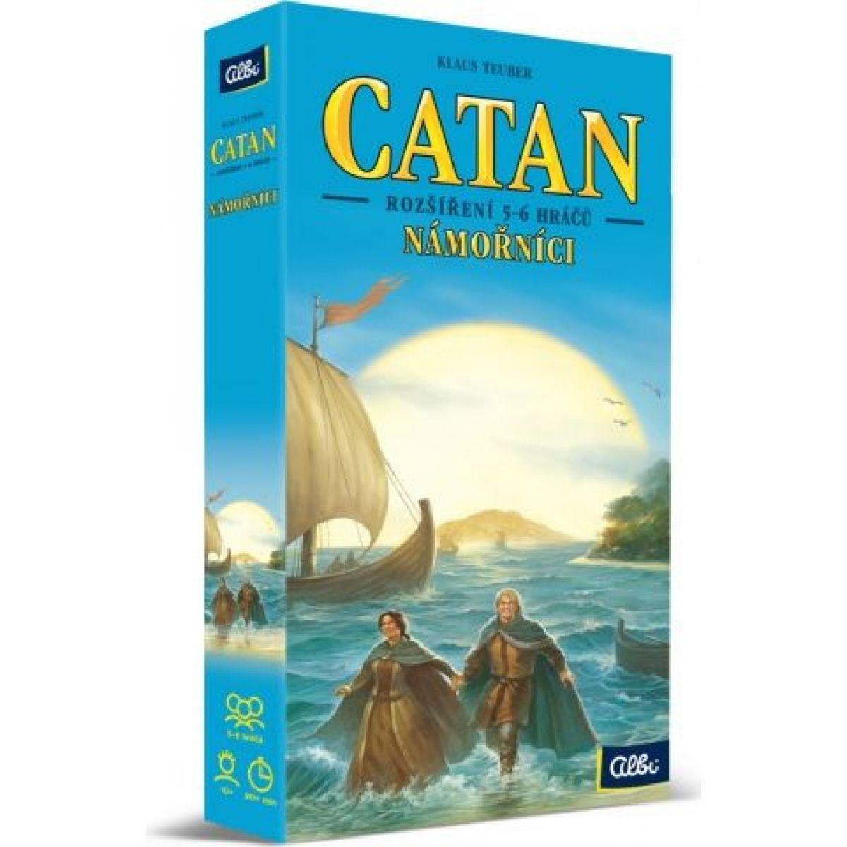 Albi Catan Námořníci 5-6 hráčů Albi
