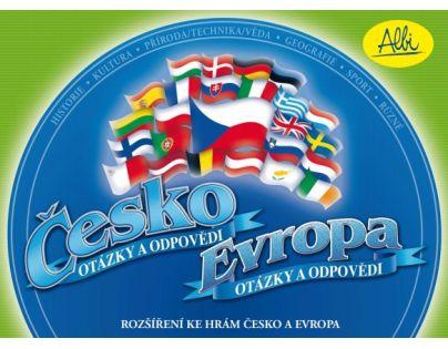 Albi 11292 - Česko a Evropa - rozšíření karet