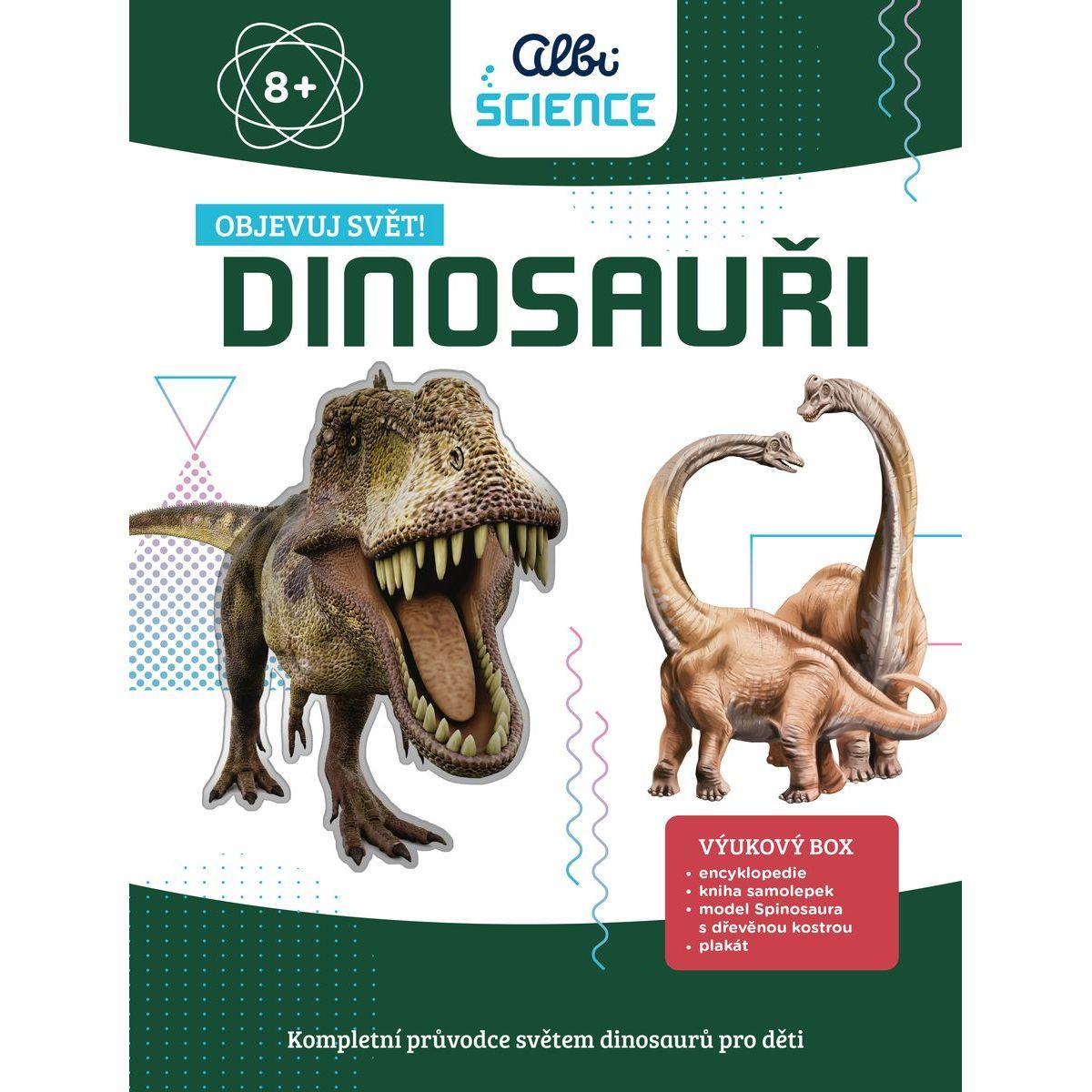 Albi Science Dinosaury Objavuj svet