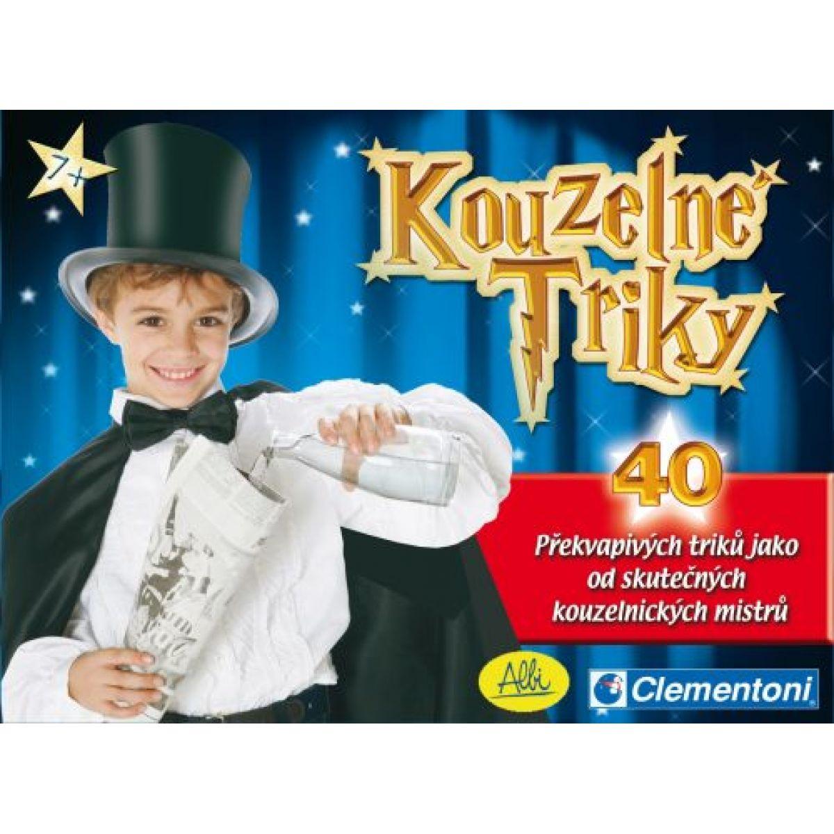 Clementoni 11479 - Kouzelné triky - sada 40 kouzel