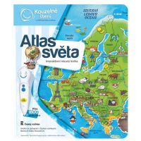 Albi Kouzelné čtení Elektronická tužka a kniha Atlas světa 3