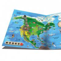 Albi Kouzelné čtení Elektronická tužka a kniha Atlas světa 4