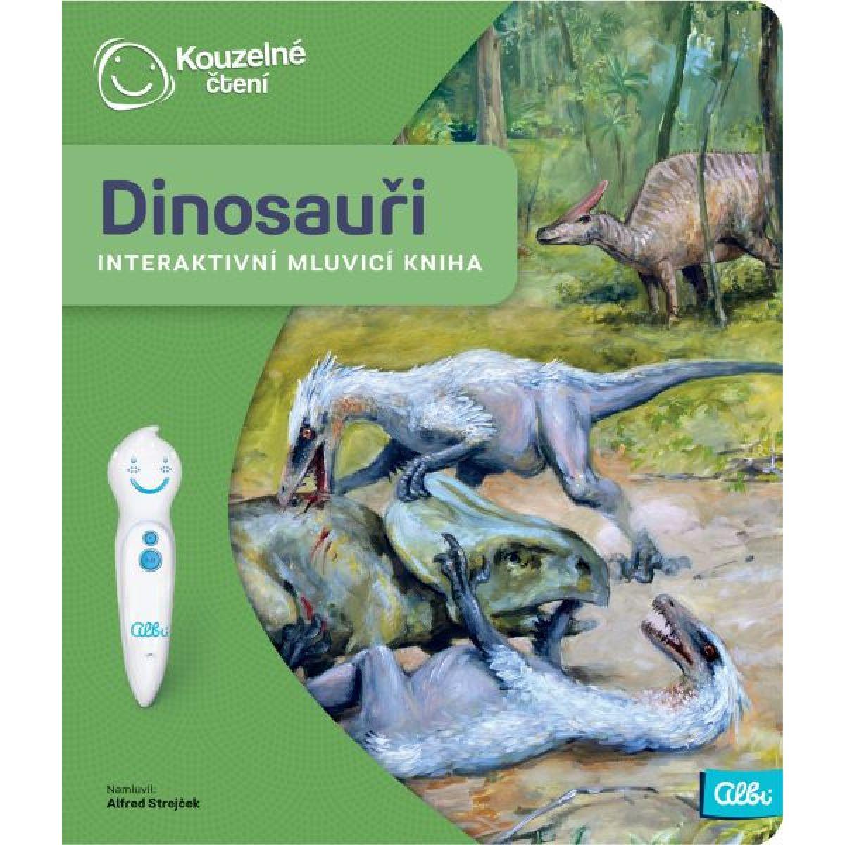 Albi Kouzelné čtení Kniha Dinosauři