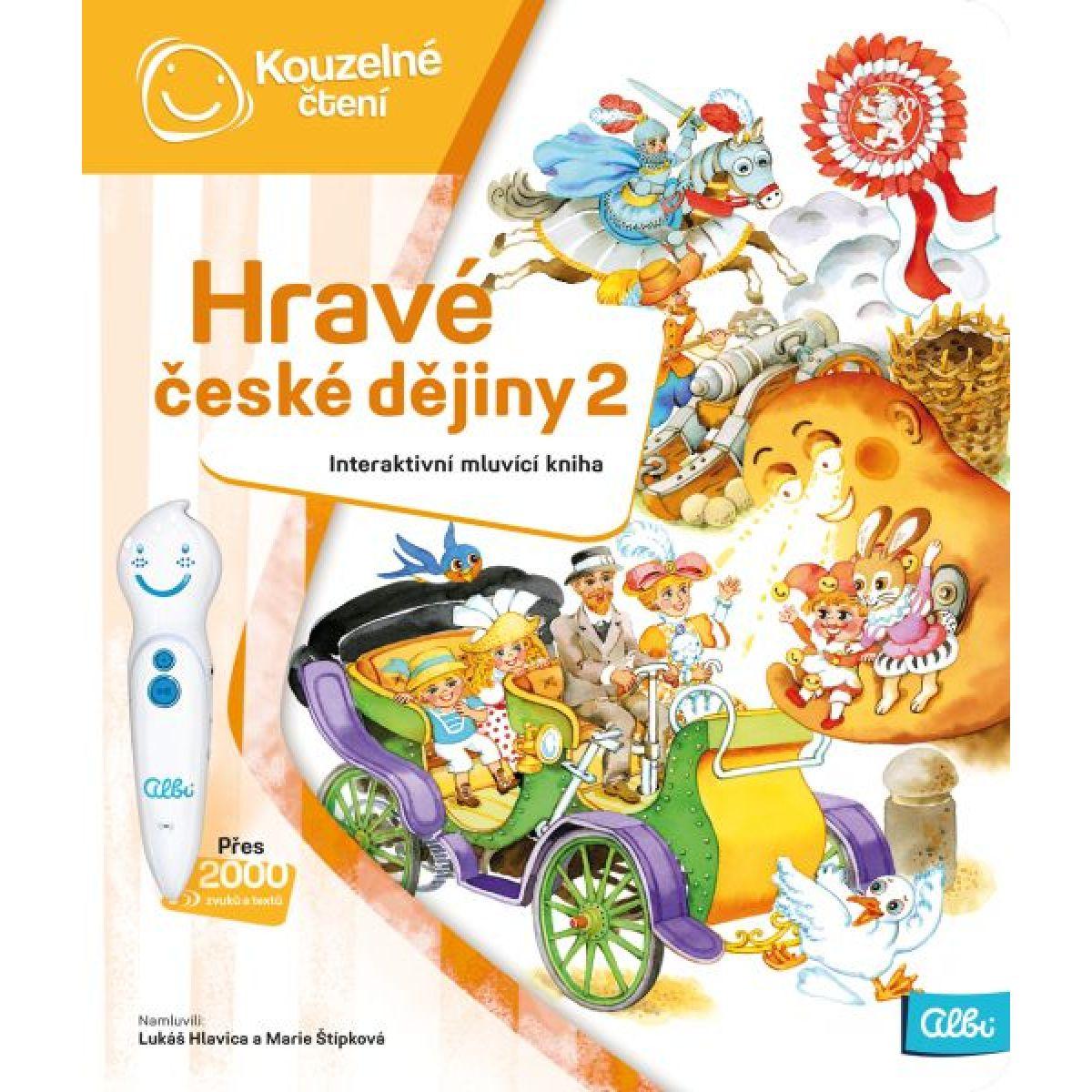 Albi Kouzelné čtení Kniha Hravé české dějiny 2