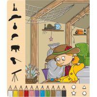 Albi Kouzelné čtení Kniha Moje první barvy a tvary 4