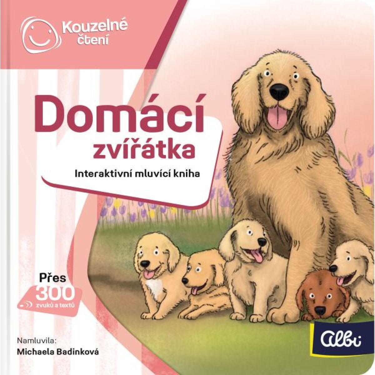 Albi Kouzelné čtení Minikniha Domácí zvířata