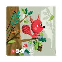 Albi Kouzelné čtení Minikniha pro nejmenší Lesní zvířátka 3