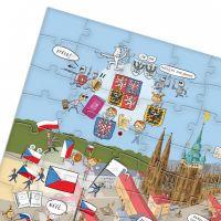 Albi Kouzelné čtení Puzzle Můj stát 3