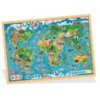 Albi Kouzelné čtení Puzzle Planeta zvířat 2