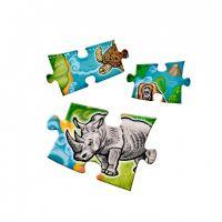 Albi Kouzelné čtení Puzzle Planeta zvířat 4
