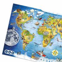 Albi Kouzelné čtení Puzzle Svět 2