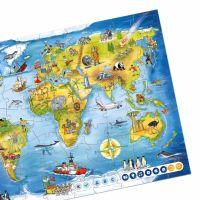 Albi Kouzelné čtení Puzzle Svět 3