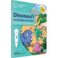 Albi Kouzelné čtení Samolepková knížka Dinosauři 2