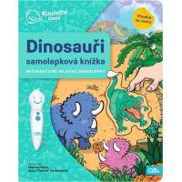 Albi Kúzelné čítanie Samolepková knižka Dinosaury