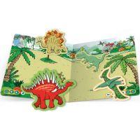 Albi Kouzelné čtení Samolepková knížka Dinosauři 3