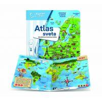Albi Kúzelné čítanie Albi tužka a Atlas sveta SK 2