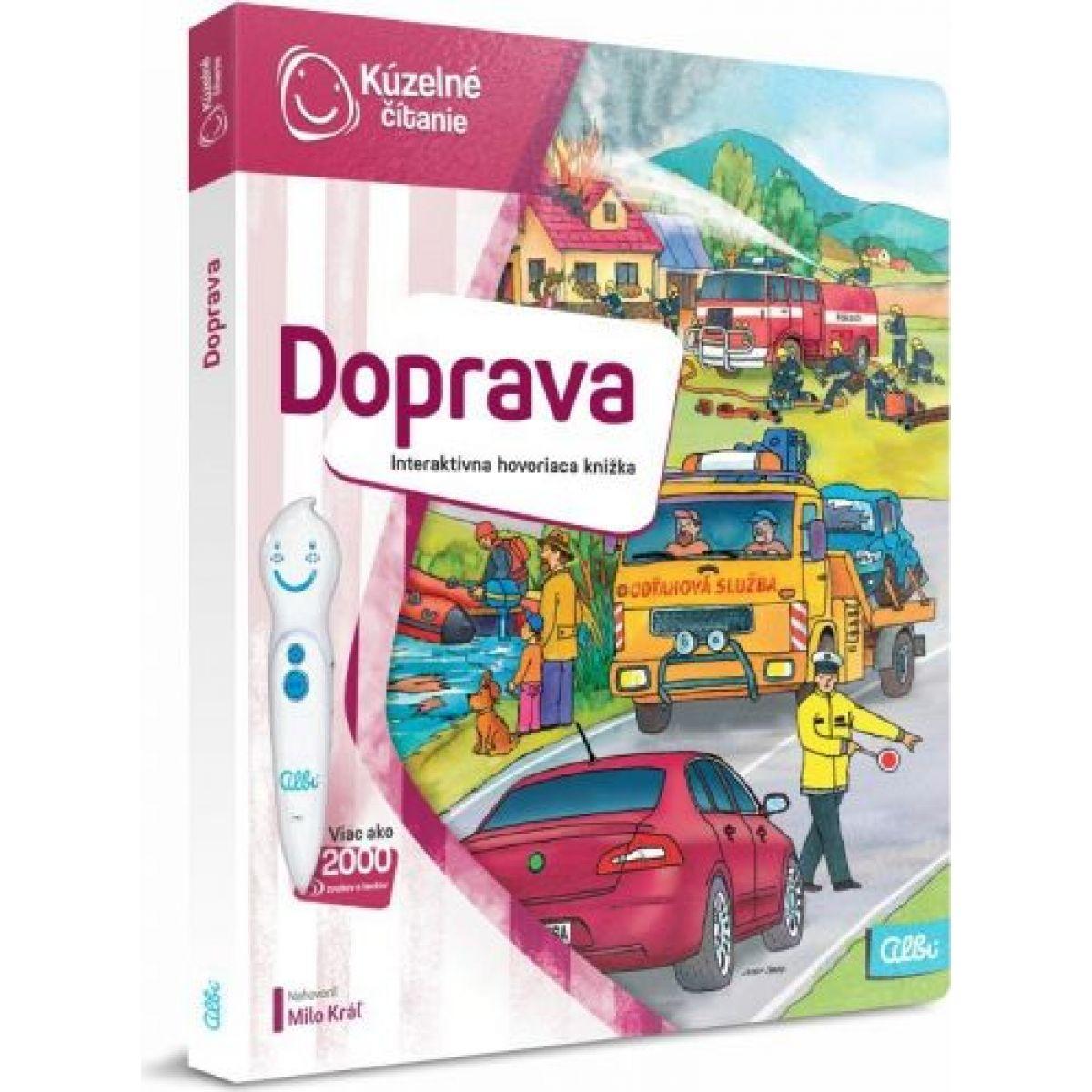 Albi Kúzelné čítanie Kniha Doprava SK