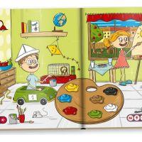 Albi Kúzelné čítanie Kniha Moje prvé farby a tvary SK 2