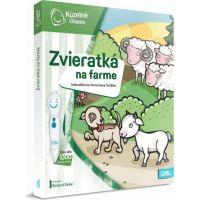 Albi Kúzelné čítanie Kniha Zvieratká na farme SK