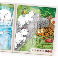Albi Kúzelné čítanie Kniha Zvieratká v Zoo SK 2