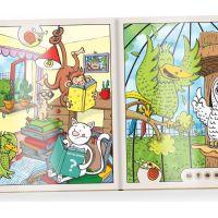 Albi Kúzelné čítanie Kniha Zvieratká v Zoo SK 5