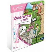 Albi Kúzelné čítanie Kniha Zvieratká v Zoo SK