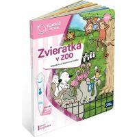 Albi Kúzelné čítanie Kniha Zvieratká v Zoo SK 4