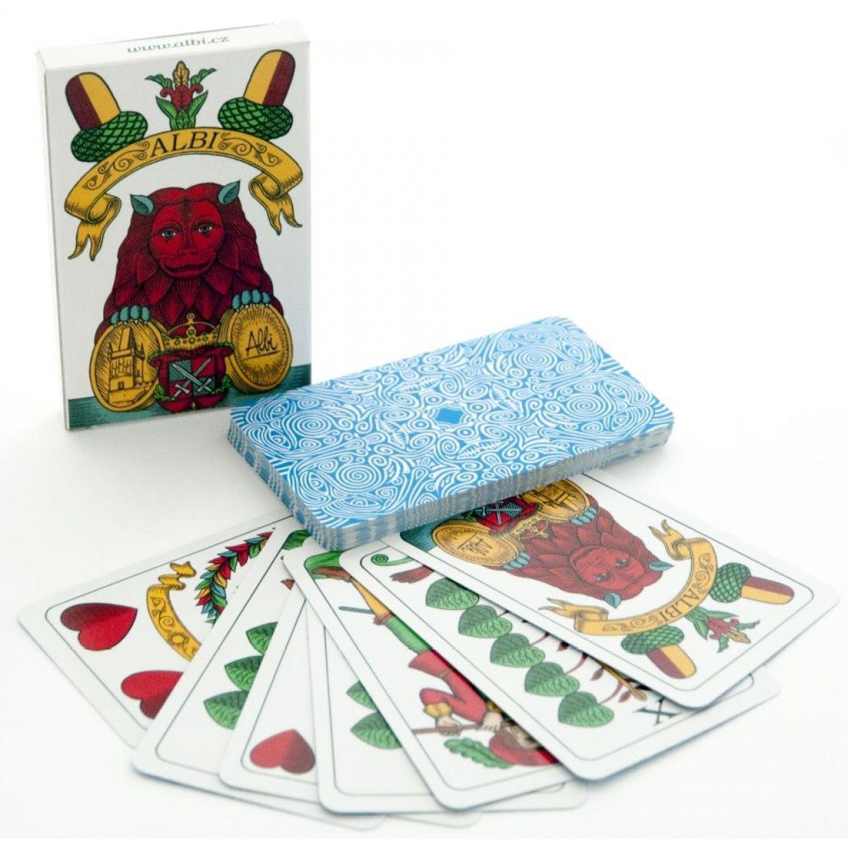 Albi Mariáš jednohlavé karty