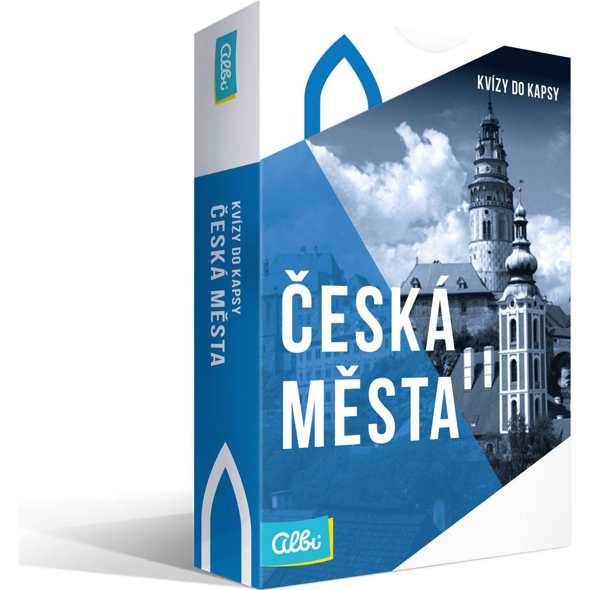 Albi Nové Kvízy do kapsy Česká města