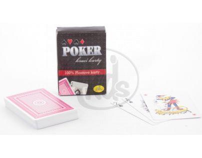 Albi Poker - plastové hrací karty