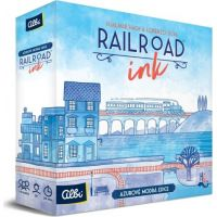 Albi Railroad Ink Azurově modrá edice