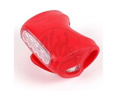 Albi Světlo na kolo - Červená