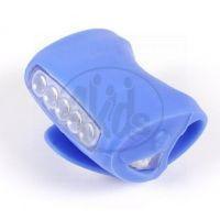 Albi Světlo na kolo - Modrá