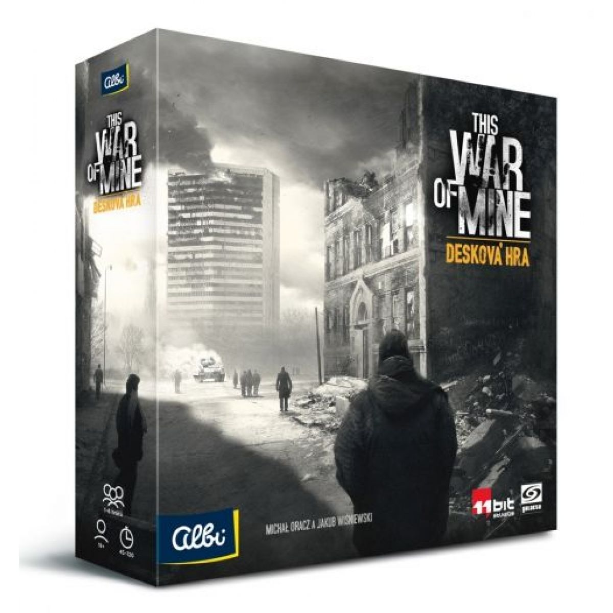 Albi This War of Mine Desková hra