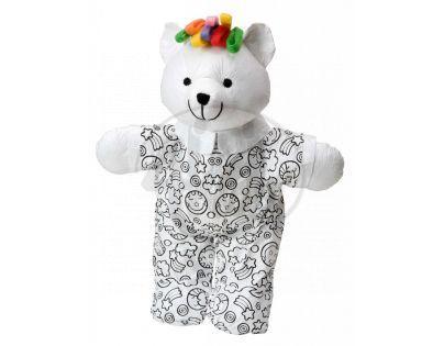 Alex Vymaluj si medvídka 38cm + 4 fixy