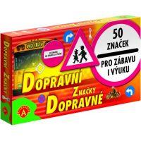 Alexander Dopravní značky 50 ks 2