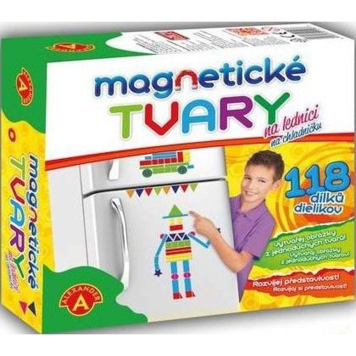 Alexander Magnetické tvary na lednici