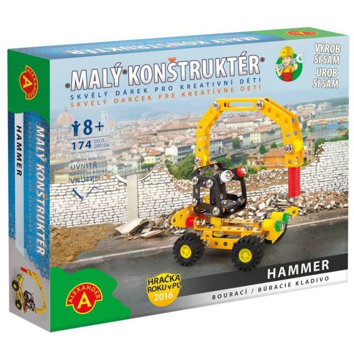 Alexander Malý konstruktér Hammer Bourací kladivo