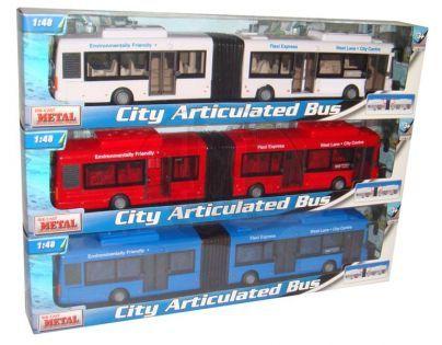 Autobus městský kloubový 38 cm